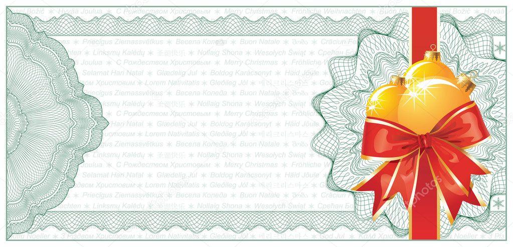 Doc#585430 Christmas Gift Certificates Templates u2013 Christmas - christmas gift vouchers templates