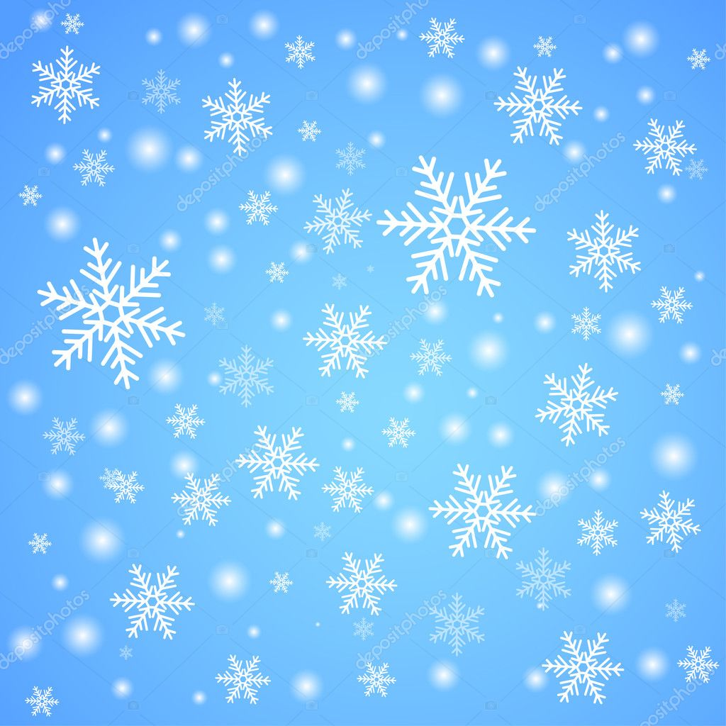 Real Snowflakes Falling Wallpaper Snow Fall Stock Vector 169 Krulua 6884877