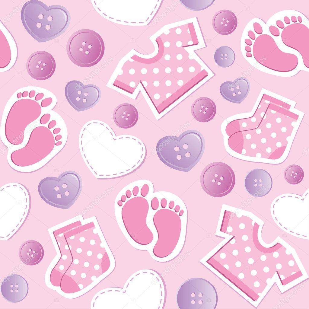 Cute Teddy Bear Live Wallpaper Free Download Baby Pink Seamless Pattern Stock Vector 169 Redcollegiya