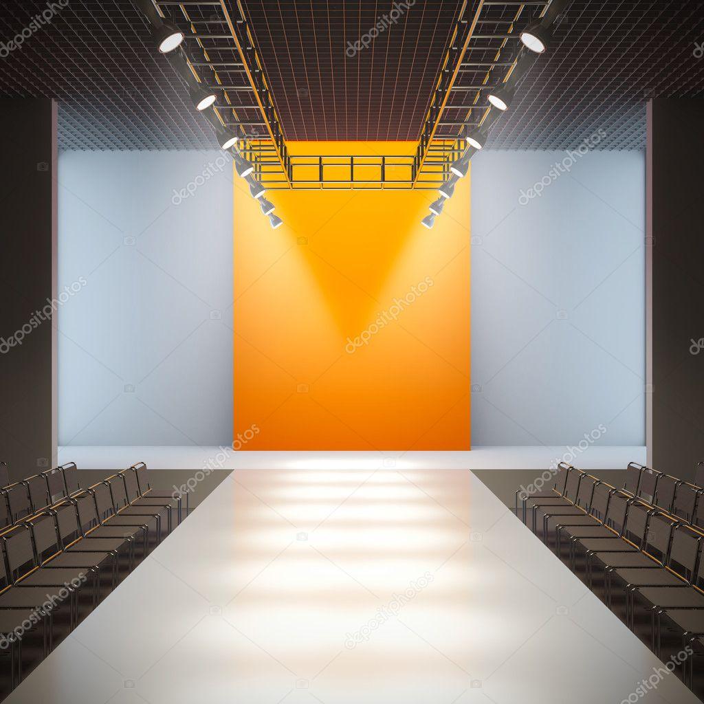 Spring 3d Live Wallpaper Fashion Empty Runway Stock Photo 169 Nav 7935763