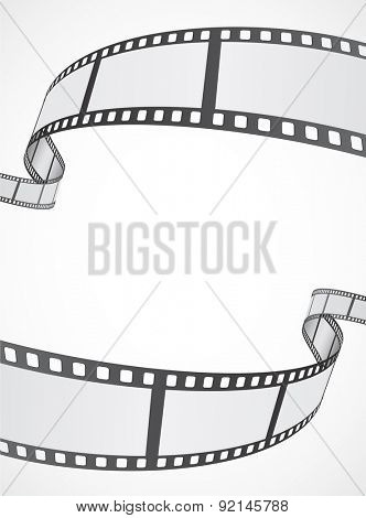 film reel strip abstract frame background design Poster ID92145788