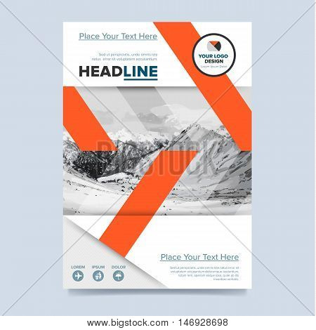 Brochure design Creative brochure design Business template of
