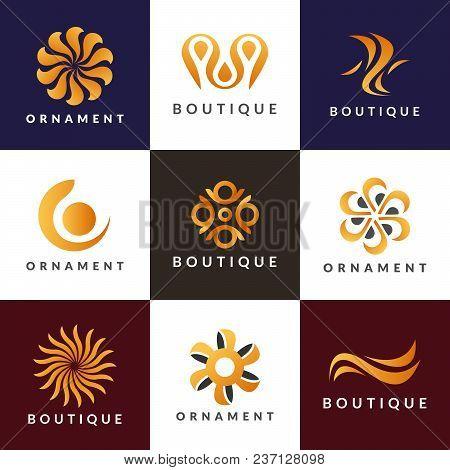 Luxury Logo Set A Collection Of Logos For Interior Decoration Logo