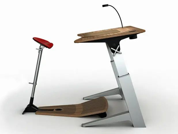 Innovative office chair design eases sitting disease