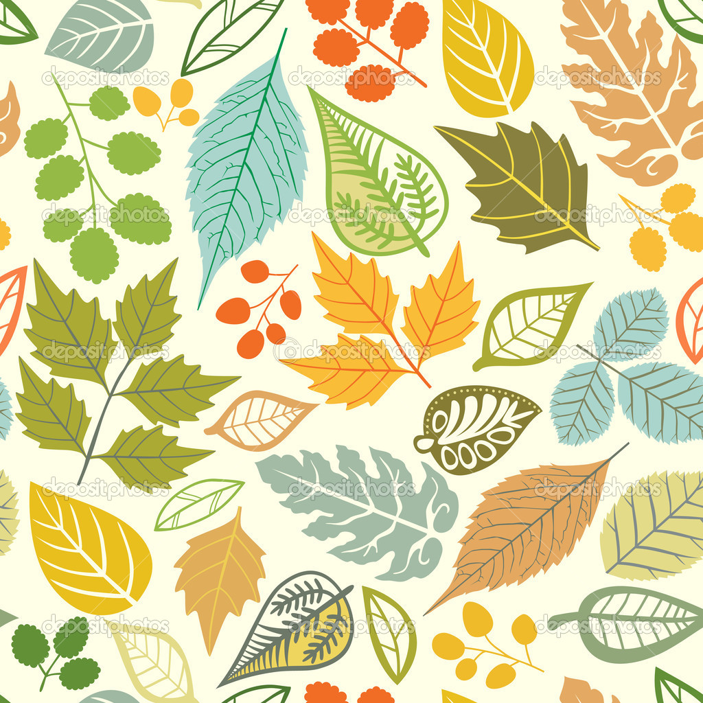 Fall Leaves Iphone 7 Wallpaper A Seamless Pattern With Leaf Autumn Leaf Background