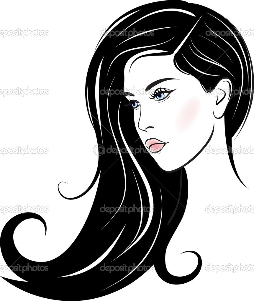 Stock-illustration-beautiful-woman-face Beautiful Woman Face — Stock Vector © Colorvalley 9714899