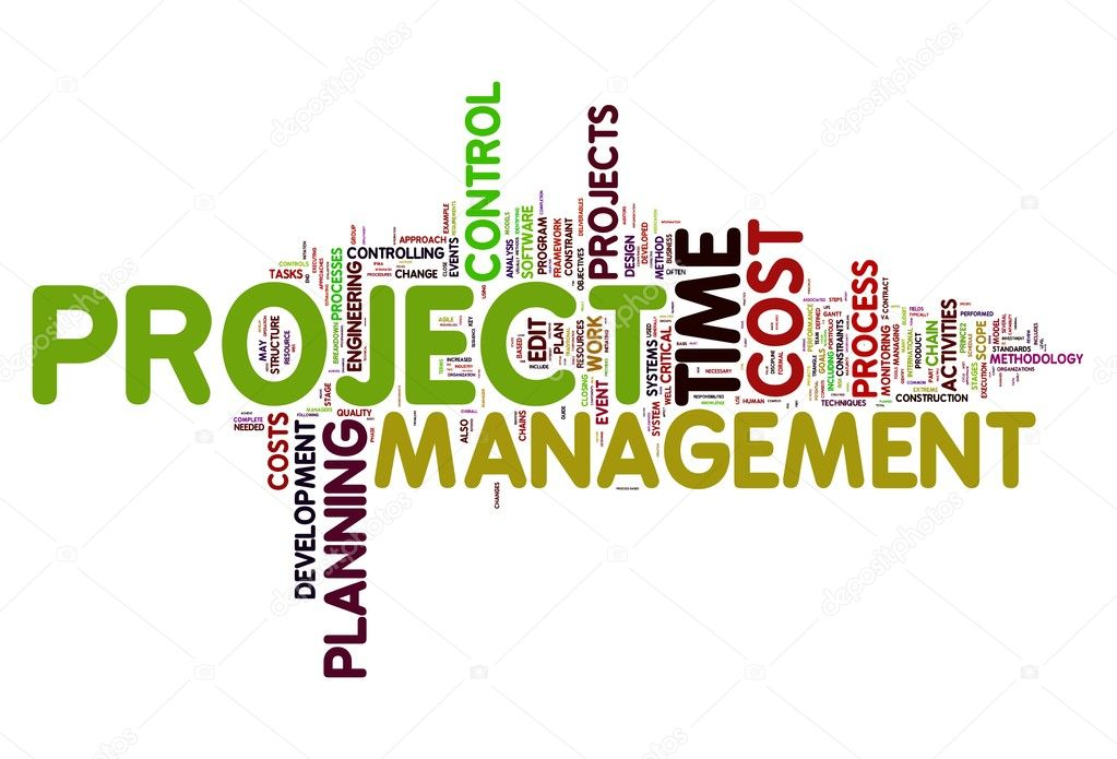 Project management in tag cloud \u2014 Stock Photo © olechowski #8017567