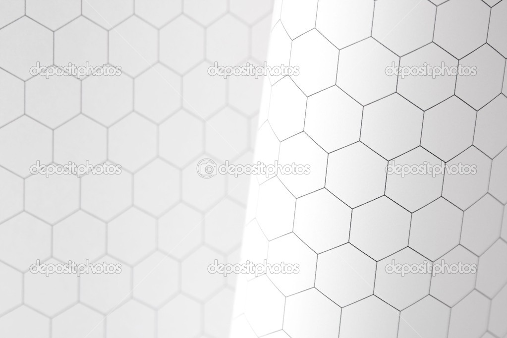 Hexagon graph paper background \u2014 Stock Photo © aliced #10172245