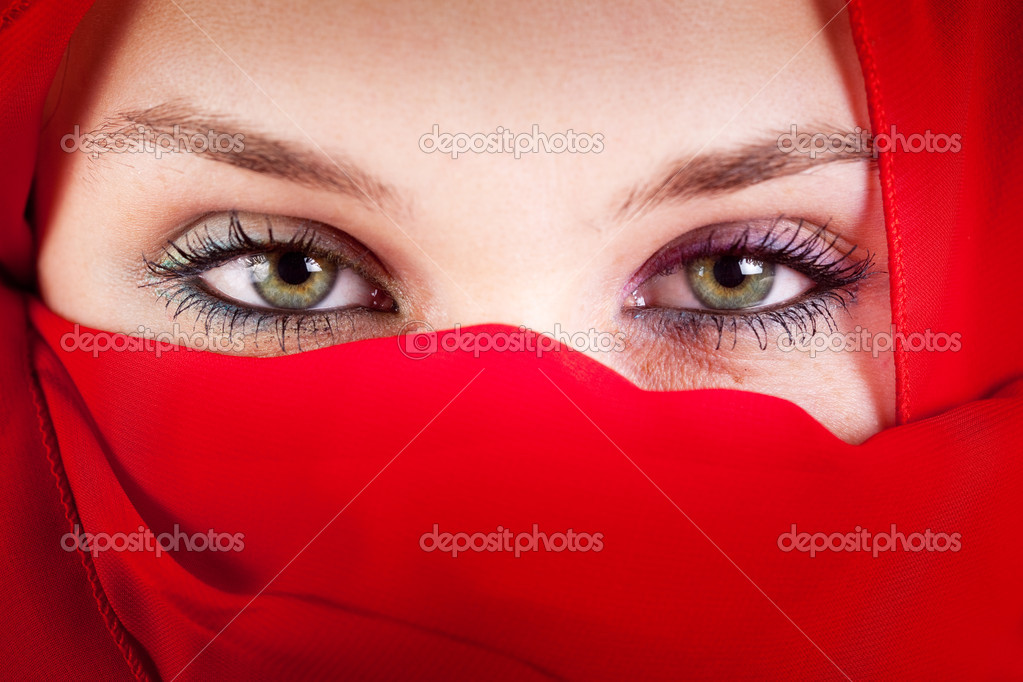 Beautiful Muslim Girl Hd Wallpaper Femme Voile Avec De Beaux Yeux Sexy Photographie