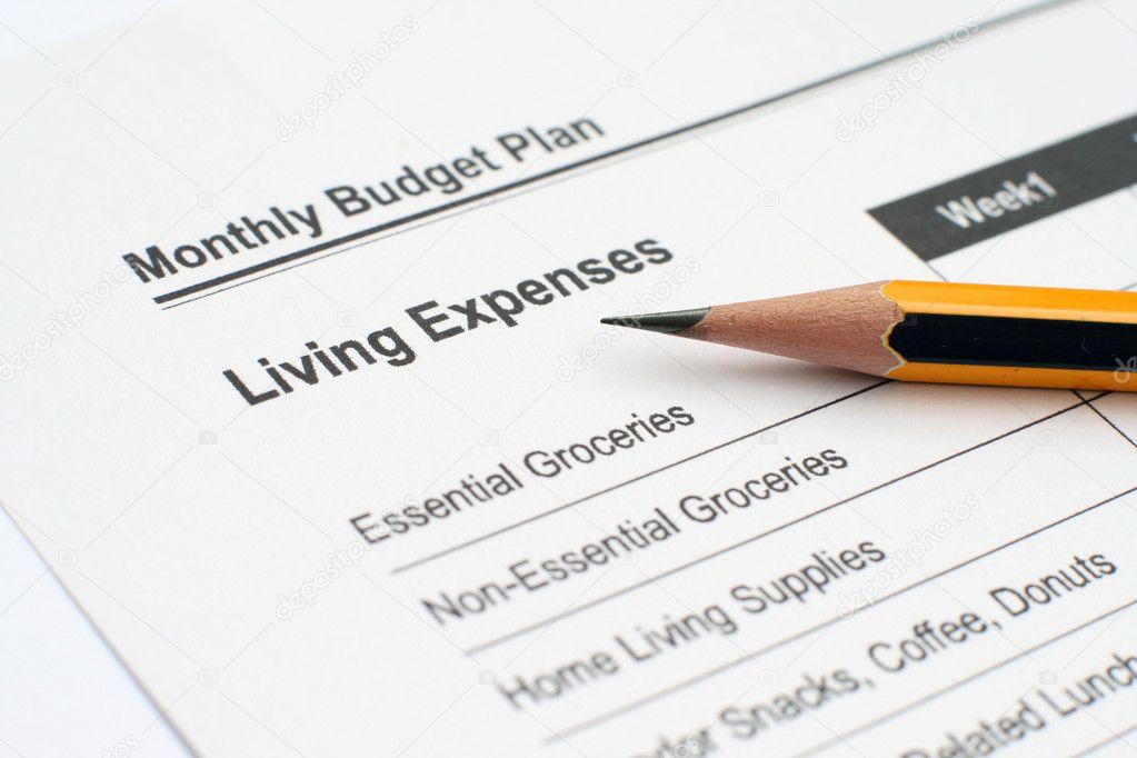 plan de presupuesto mensual \u2014 Fotos de Stock © alexskopje #8868511 - presupuesto mensual