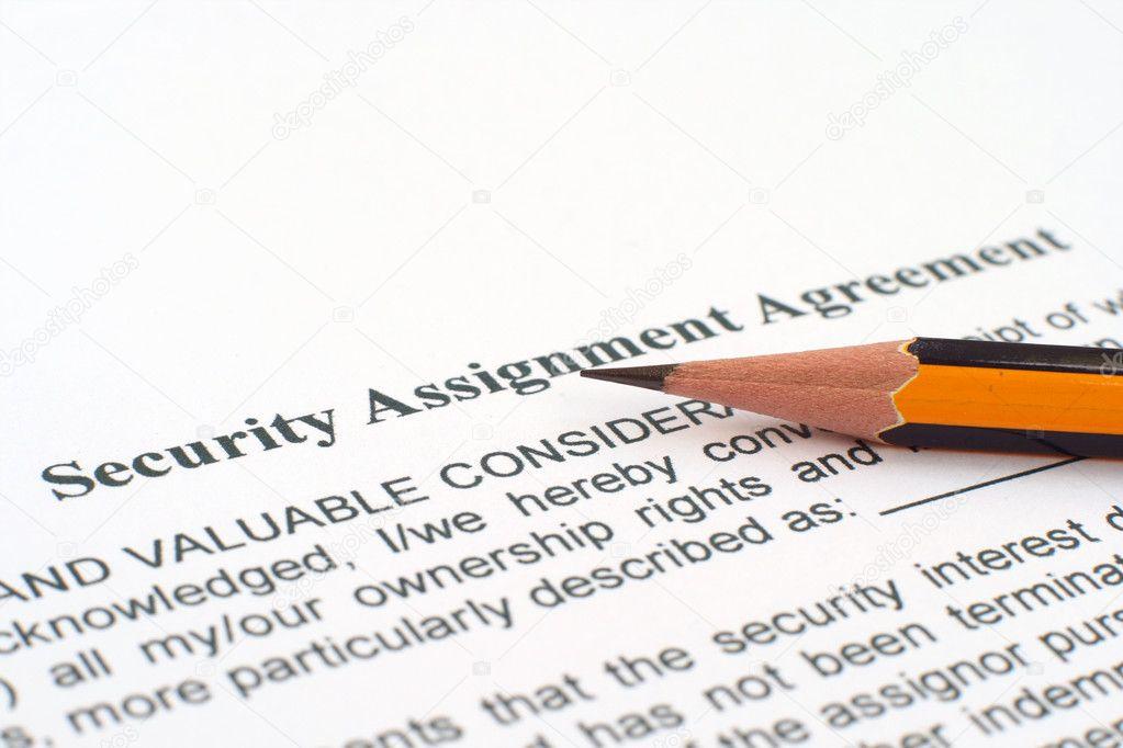 Security agreement \u2014 Stock Photo © alexskopje #9342915