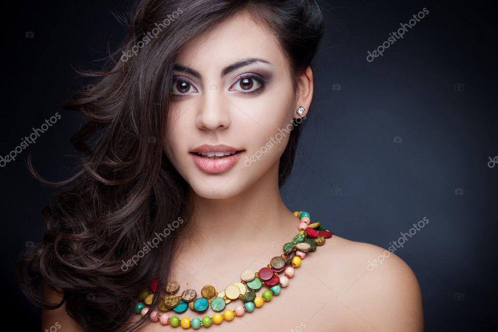 Indian Girl Wallpaper Free Download Beautiful Indian Girl Stock Photo 169 Margo Black 9262631