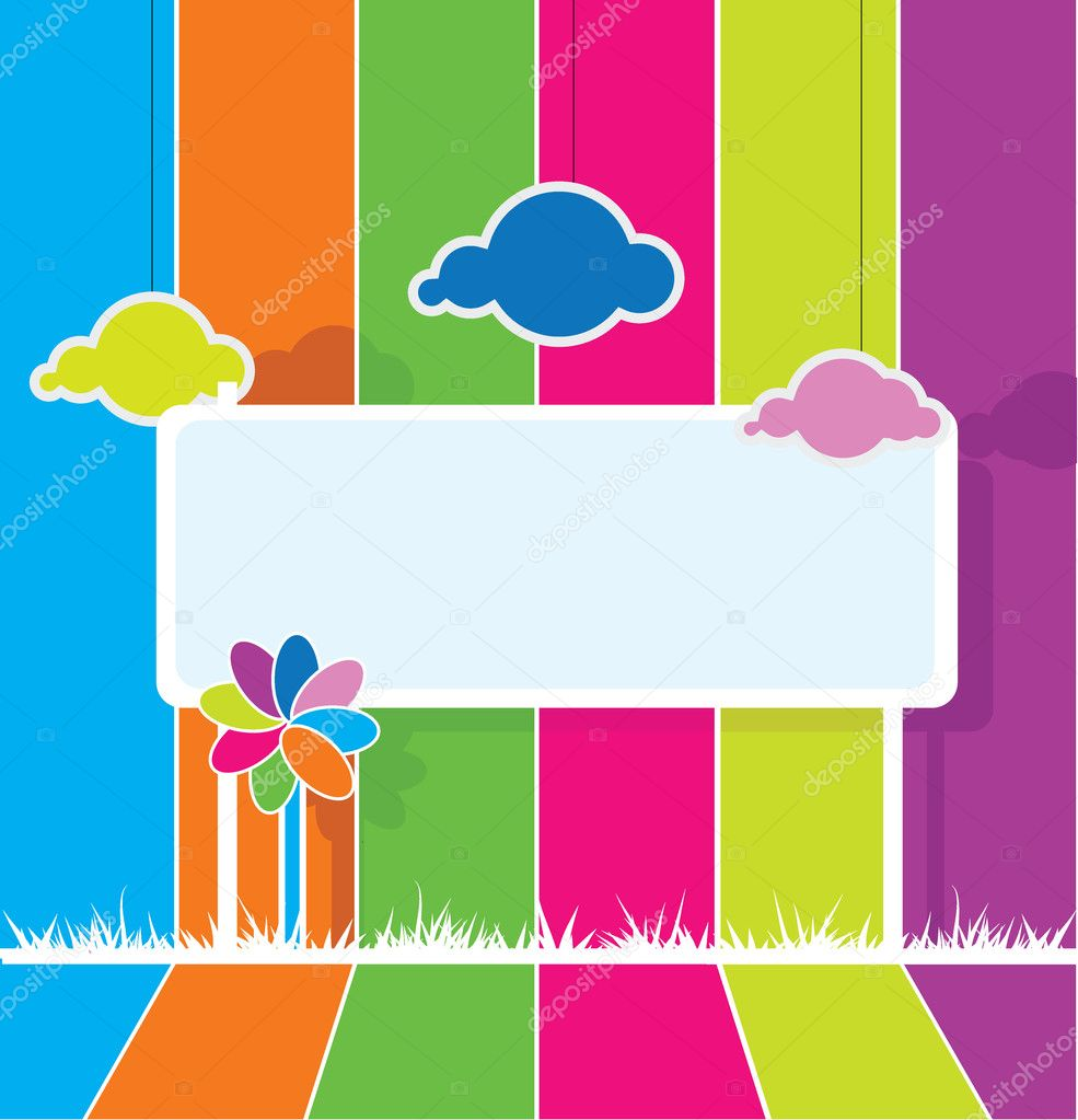 Barbie 3d Live Wallpaper Colorful Billboard Background Stock Vector