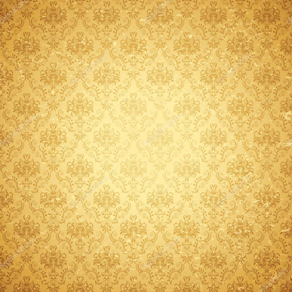 Free Live Fall Wallpapers For Desktop Vintage Floral Background Stock Vector 169 Vectomart 7962390