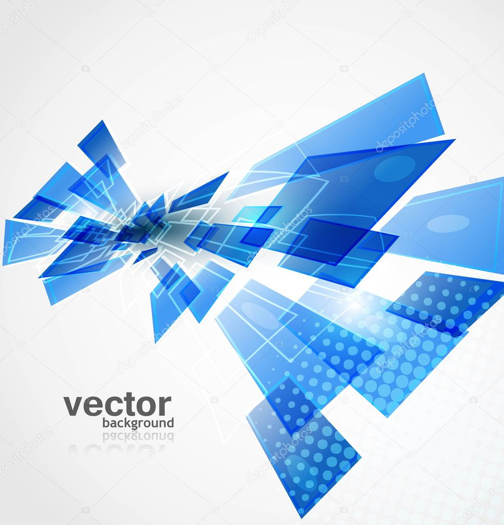 3d Wallpaper Price Per Square Foot Abstract New Technology Background Vector Stock Vector