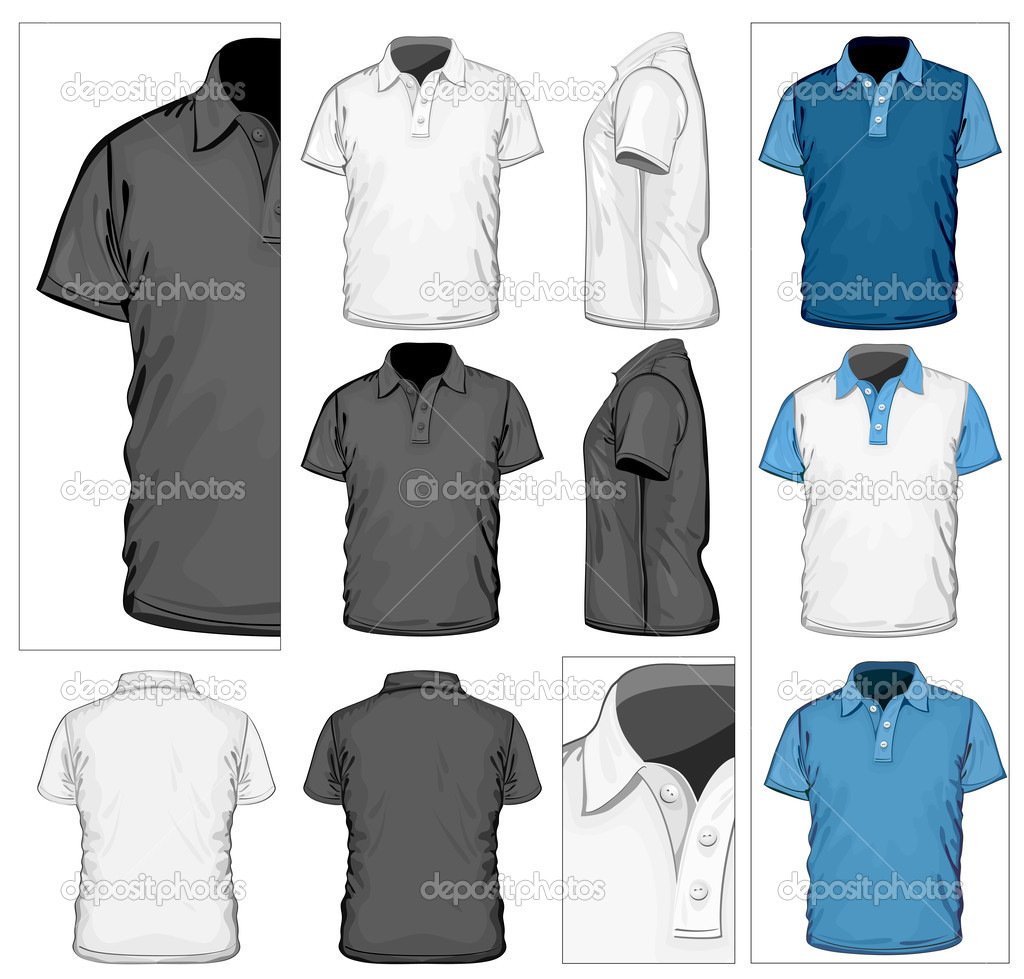 Polo shirt design template stock vector 169 ivelly 11481705