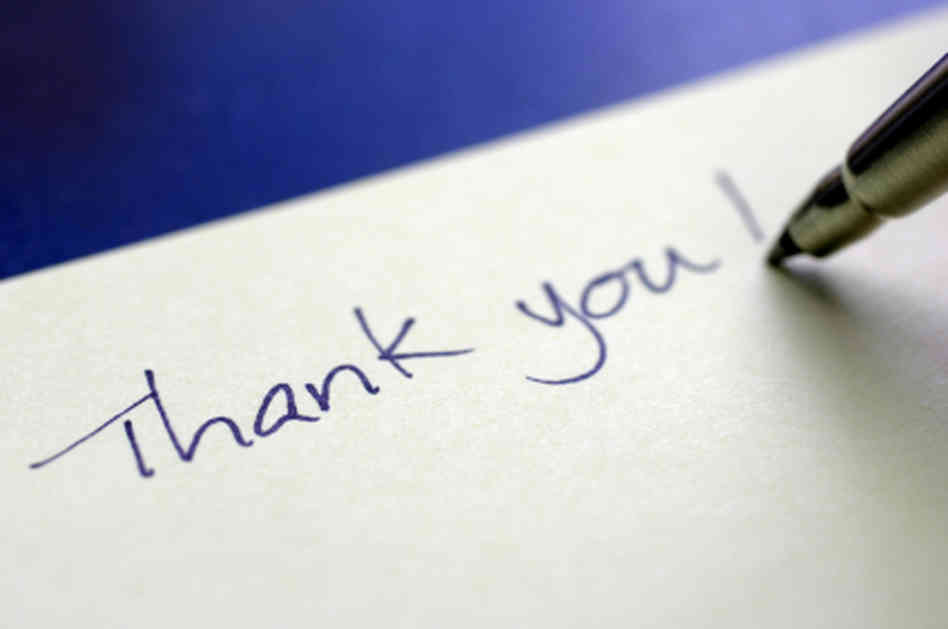 The Power of Thank You Notes - Virtual Vocations
