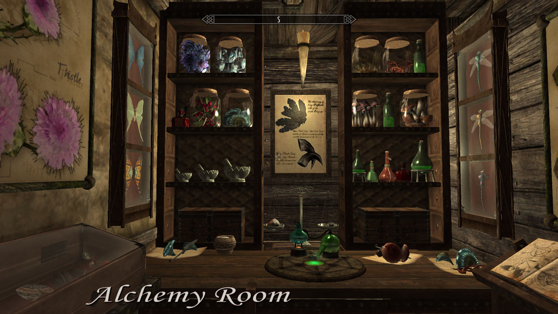 3d Classroom Wallpaper Alchemy Room At Skyrim Nexus Mods And Community