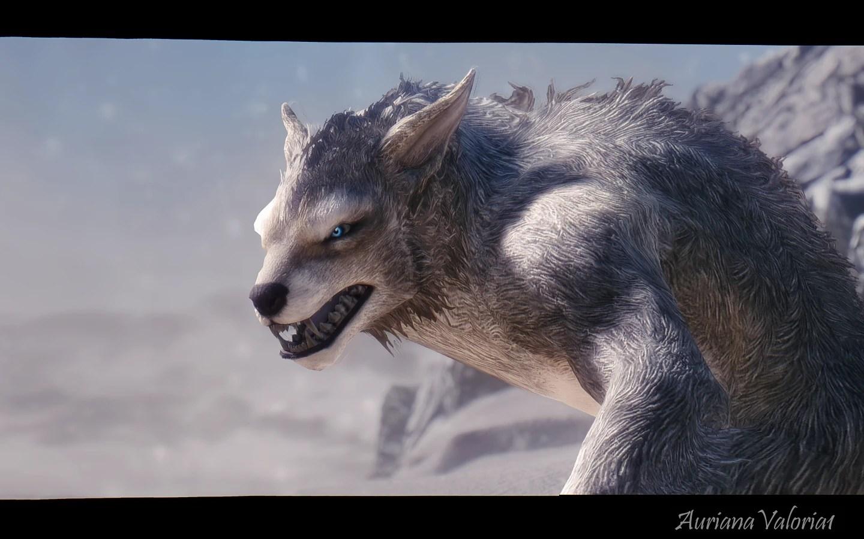 Star Wars Girl Wallpaper The White Werewolf At Skyrim Nexus Mods And Community