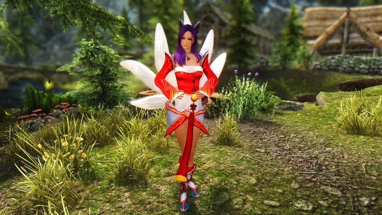 Cute Girl Wallpaper Sims 3 The Fox In Skyrim At Skyrim Nexus Mods And Community