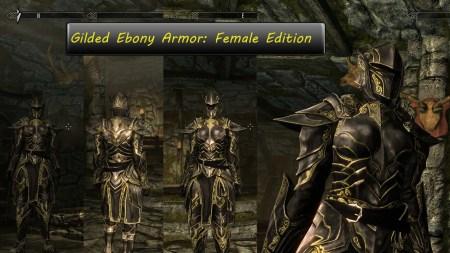 Ebony Armor Skyrim Id