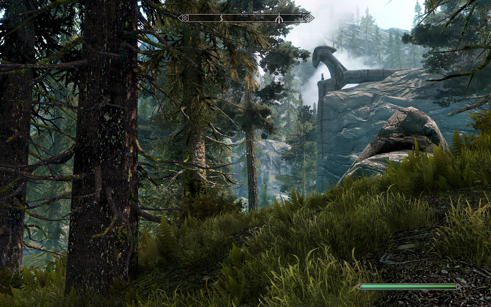 3d Wallpapers Desktop Free Download Animation Windows 7 Realistic Pine Trees At Skyrim Nexus Mods And Community