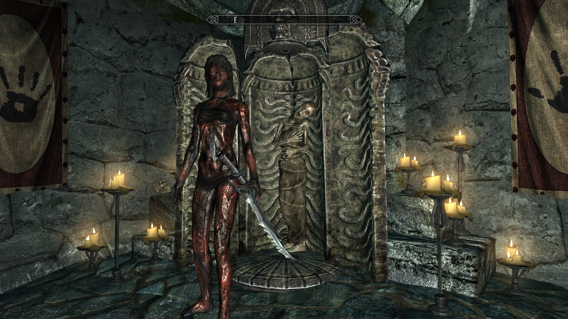 Skyrim Girl Wallpaper Corpse Girl Dark Brotherhood At Skyrim Nexus Mods And