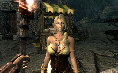 With Out Cloth Girl Wallpaper Cute Girl S Replacer Markarth V 1 At Skyrim Nexus Mods