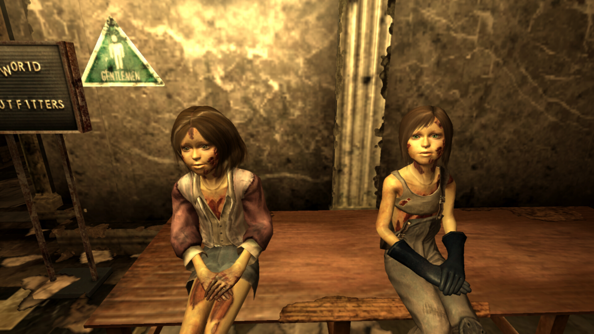 Unique Girl Wallpaper Underworld Cotw Ghoul Kids At Fallout3 Nexus Mods And