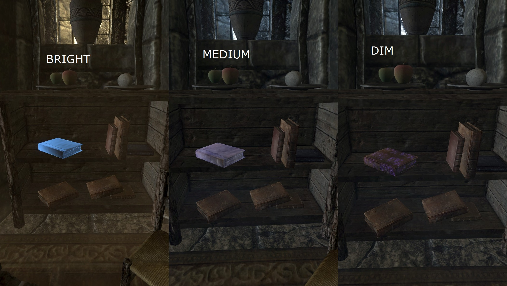 Libros Skyrim Unread Books Glow Sse Spanish At Skyrim Special Edition