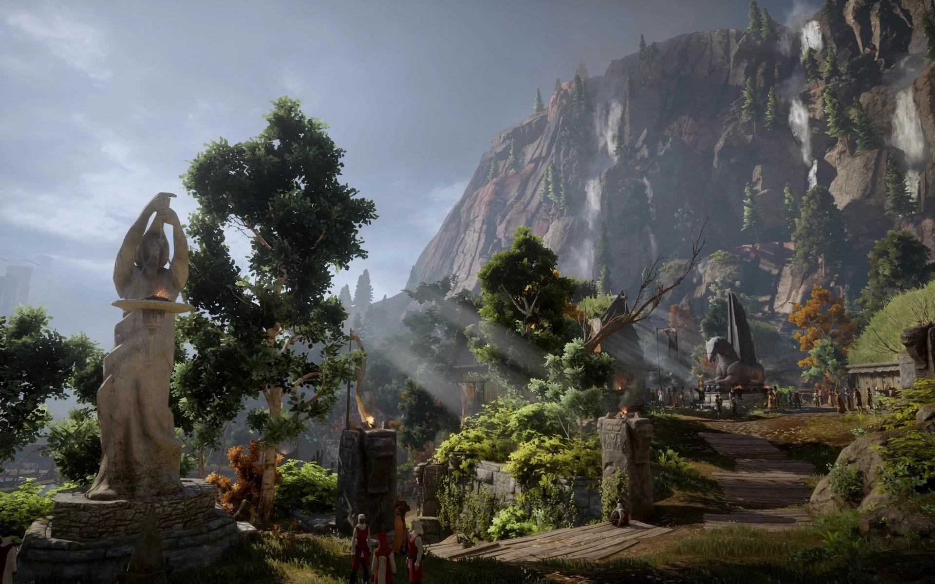 3d Wallpaper Sword Art Online Interactive Hd Animated Desktop Wallpaper Of Inquisition At Dragon Age