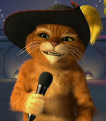 Super Cute Baby Cats Wallpaper Puss In Boots Voice Shrek Short Behind The Voice Actors