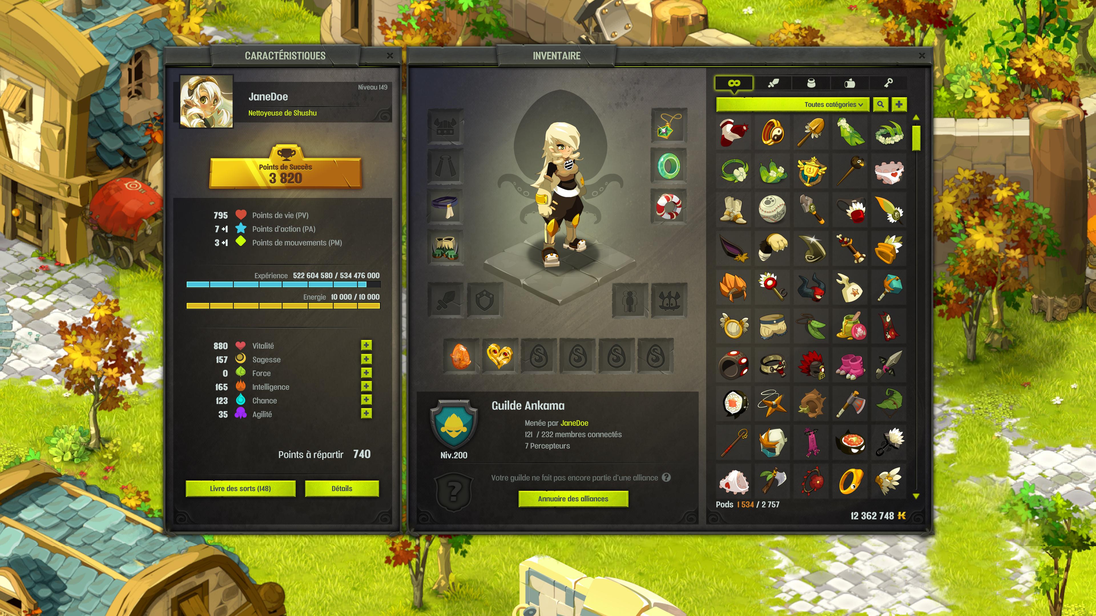 Dragon Skin Girl Wallpaper Dofus Interfaces Overhaul Forum Dofus The Strategic