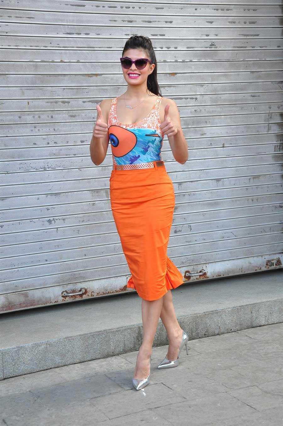 Tiger Shroff Hd Wallpaper Jacqueline Fernandez In Sexy Dress Wallpaper Facebook