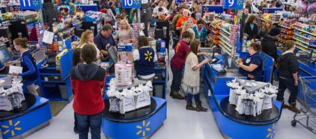 Woman found dead in Walmart after three days