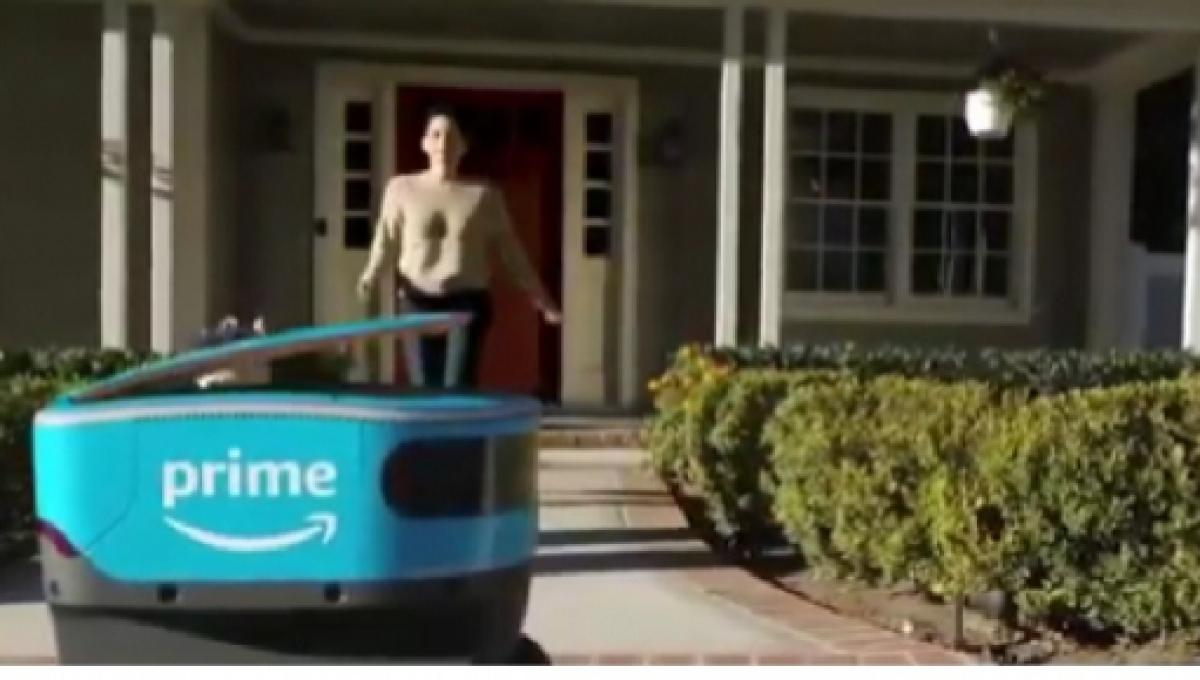 In Home Delivery Amazon Launches Scout And Takes Robotics To A New Level With Its