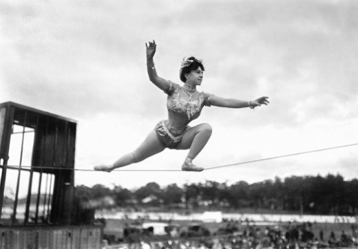 Random Research: Finding my Characters in Vintage Circus Photography: 1899-1923 (1/6)