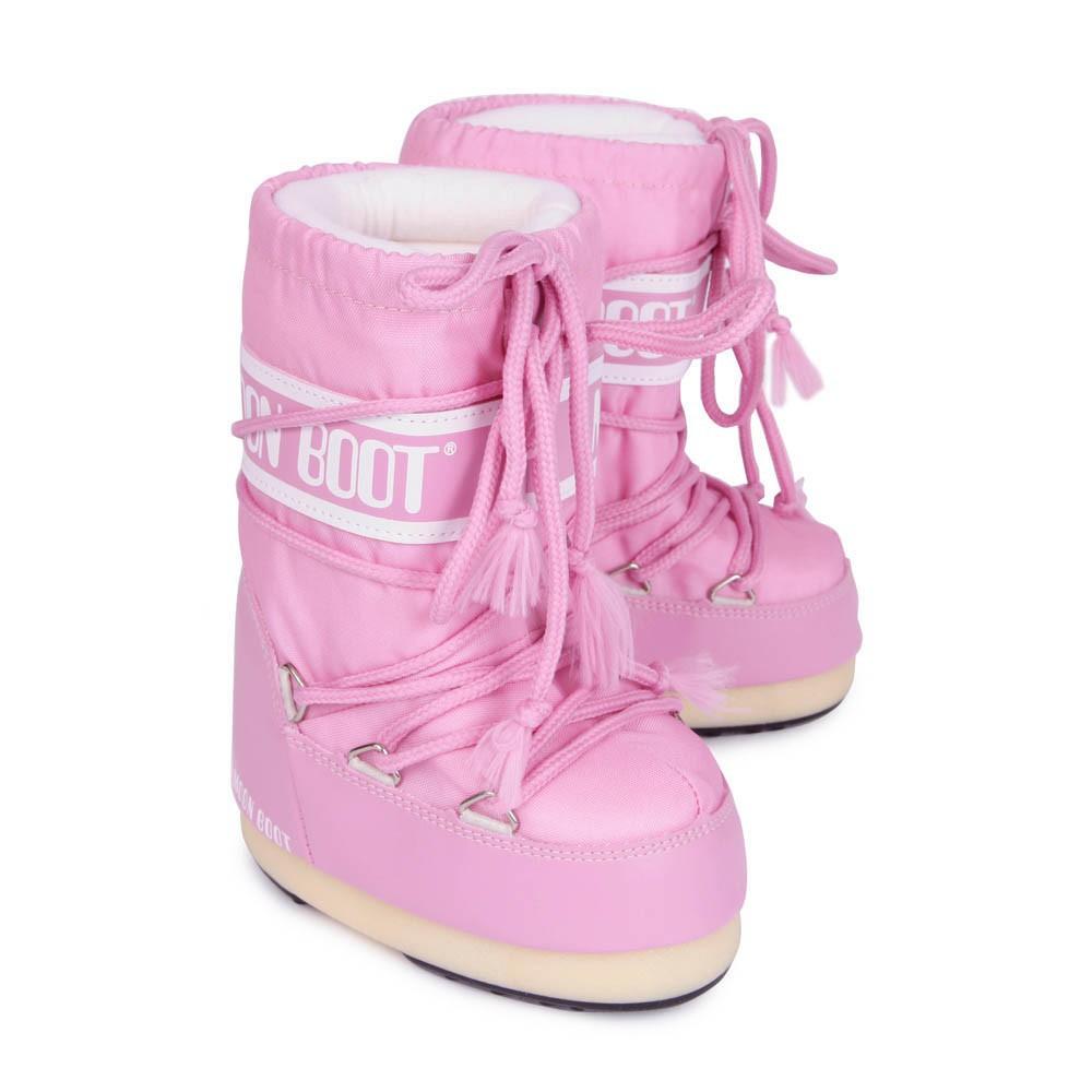 Nylon Moon Boot Pink Moon Boot Shoes Children