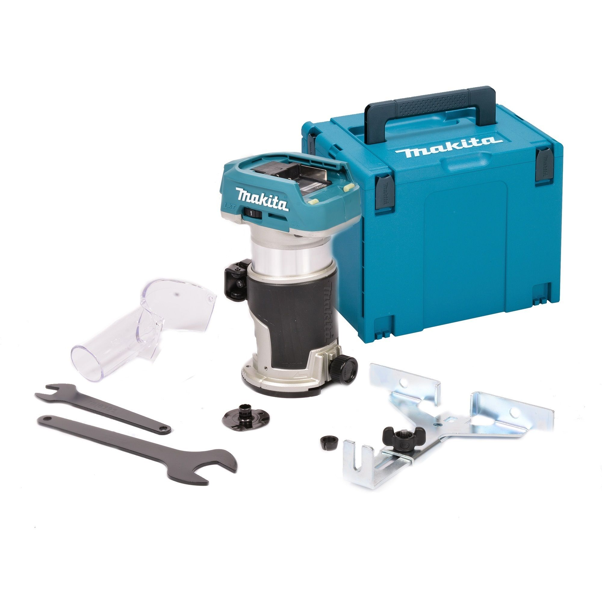 Makita Freesmachine Makita Drt50zj 18v Li Ion Accu Bovenfrees Kantenfrees Trimmer Body In Mbox