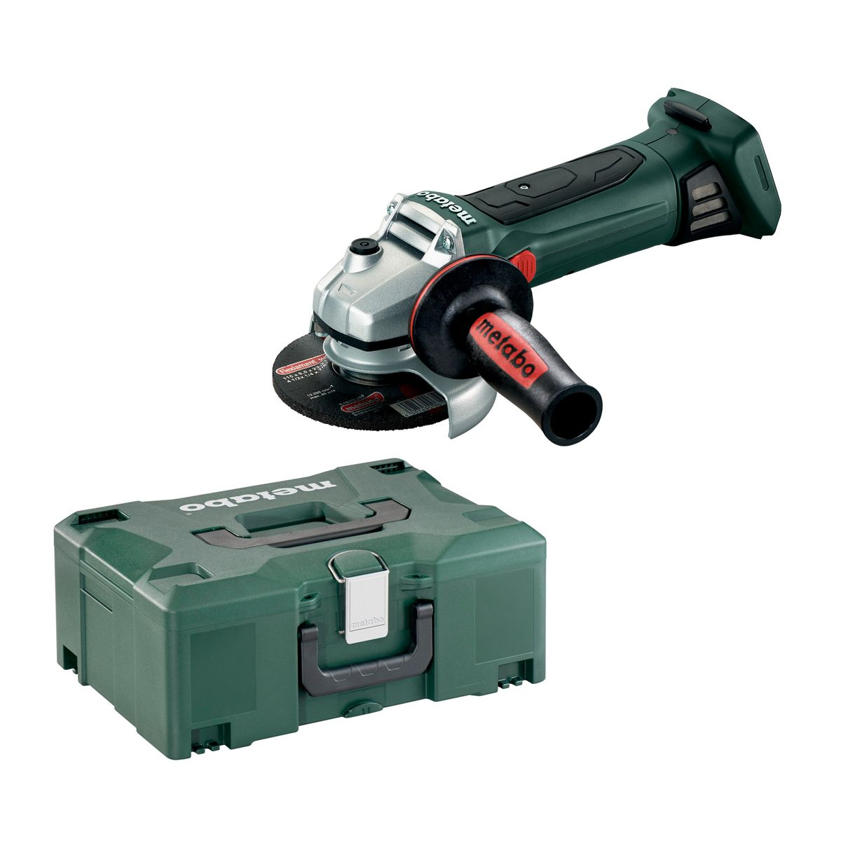 Hitachi Slijptol Accu Metabo W 18 Ltx 125 Quick 18v Li Ion Accu Haakse Slijper Body In Metaloc 125mm 602174840