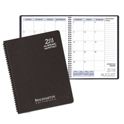 Binghamton University Bookstore - Academic Monthly Appointment Planner