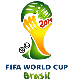 WM-Logo Brasilien 2014