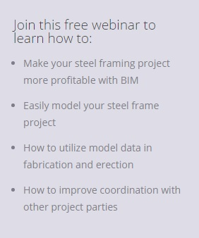 Tekla steel webinar why You should attend Intelligent bim solutions