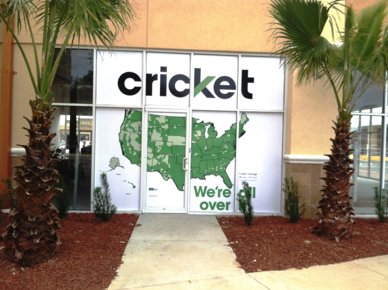 cricket wireless window graphic