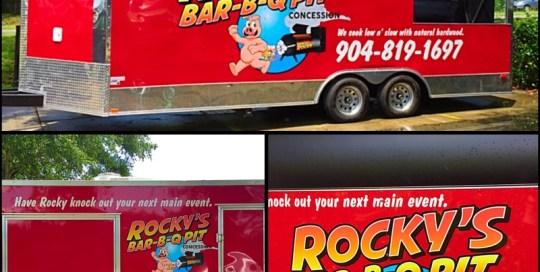 rocky's trailer graphics