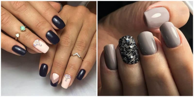 Winter Nail Colors 2019 Trendy And Chic Winter Nail
