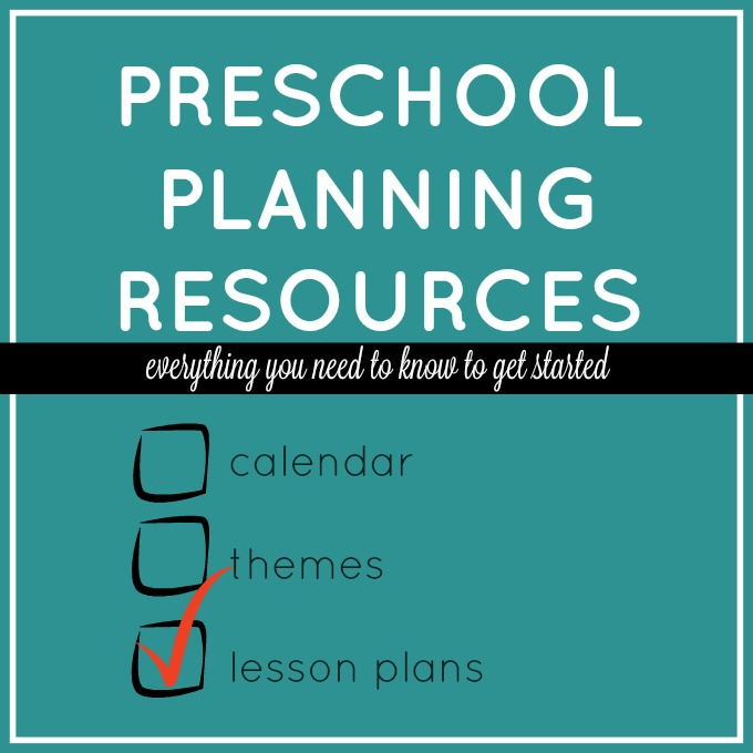 Preschool Lesson Plans - Preschool Lesson Plan