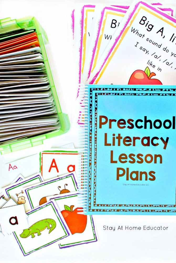 How to Organize Lesson Plans for Preschool Literacy and Math - preschool lesson plan