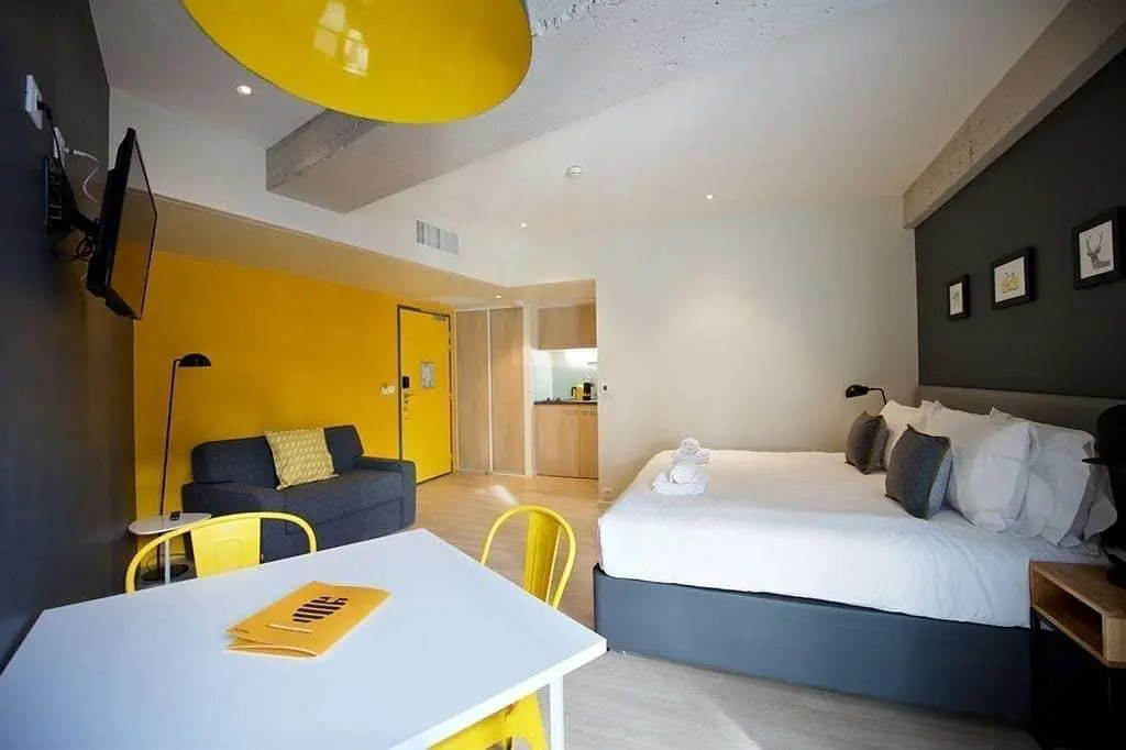 Achat Studio Lyon 7 Serviced Apartments In Lyon | Staycity Aparthotels