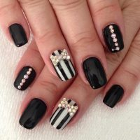 50 Best Black and White Nail Designs | StayGlam